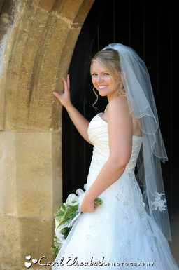 Beautiful bridal portraits in Oxford