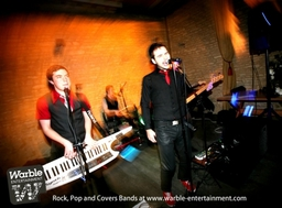 Party Band and Cover Bands for hire from Warble Ents
