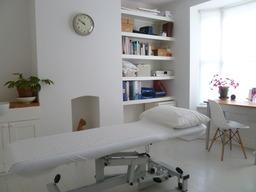 Osteopathy treatment room, Warwick