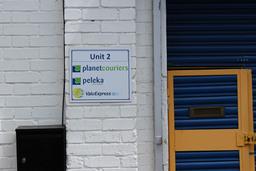 Peleka Unit 2 board sign