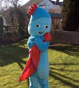 iggle piggle mascot costume from £40