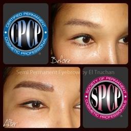 3D Hairstroke Semi Permanent Eyebrow By El Truchan @ Perfect Definition