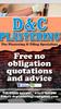 d&c plastering