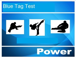 Blue Tag for POWER