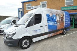 Newly rebranded S and D Vans