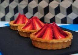 Strawberry Tartlets At Comptoir Libanais