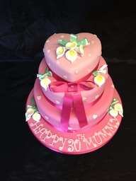 Tiered novelty and celebration cakes