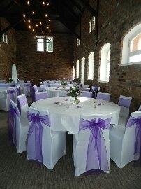 Purple sashes