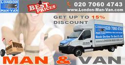man with a van in London