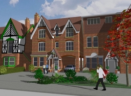 Model of Proposed Apartments in Sutton Coldfield