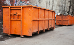 Large commercial skip hire
