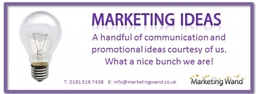 Free marketing ideas - contact us today