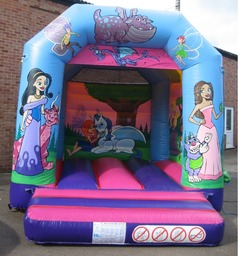 Our 13 x 10ft Fairytale Smaller Bouncy Castle