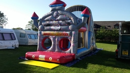 Magical Kingdom Inflatable Assault Course