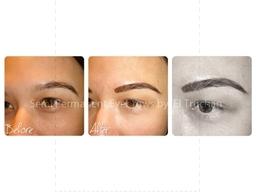 Semi Permanent Hairstroke Eyebrows By El Truchan @ Perfect Definition