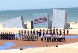International Event on Sword Beach, Normandy, 6th June 2014