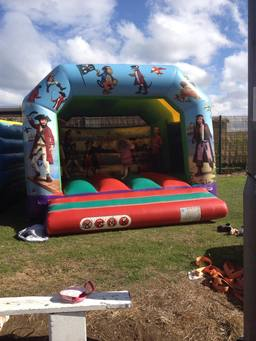 Pirate Themed Bouncy Castle