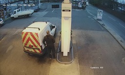 Petrol Station CCTV
