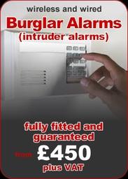 Burglar Alarms Fitted 450