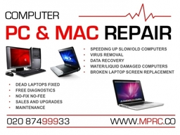 PC and Mac Repairs