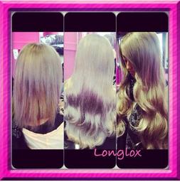 hair transformed with easilocks hair extensions