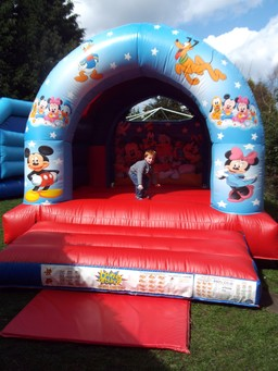 Club house bouncy castle Nottingham, Derby