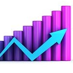 Growth Graph Purple