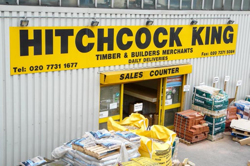 hitchcock king in 74 86 carnwath road london sw6 3hw. Black Bedroom Furniture Sets. Home Design Ideas
