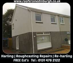 Harling, Roughcasting Repairs - Re-Harling