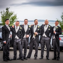 Groom and His Ushers