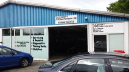 Front of Croft AutoTech Garage