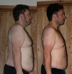 Peter lost 10kgs