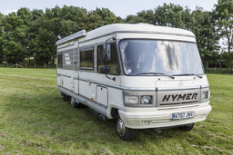 Hymer s700 motorhome for hire