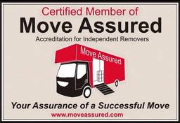 office removals hull are accredited by MoveAssured