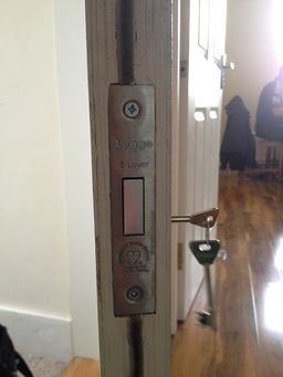 legge 5lever lock installed