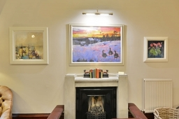 Entrance hall at Knockendarroch Hotel and Restaurant in Pitlochry