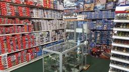 Massive range of plastic model kits