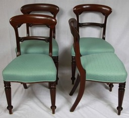 Set Victorian Chairs