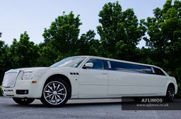 AJ LIMOS wedding car hire , Limousine