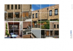 Housing development in Chiswick, London comprisng seven houses with parking in private courtyard.