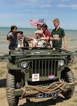 Dli Veteran At Gold Beach D Day70th 1