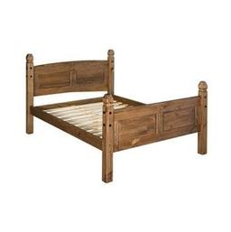 Corona 5ft Waxed Pine Bedstead