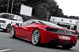 Ferrari458red