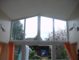 Rear extension and part refurbishment of exisitng residential building. Cleves, Surrey
