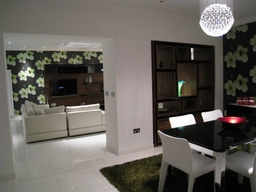 Dining room in London residence