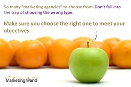 Marketing Companies - choose the right one!