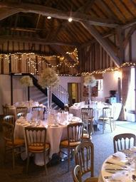 Beautiful dressed barn in Sussex