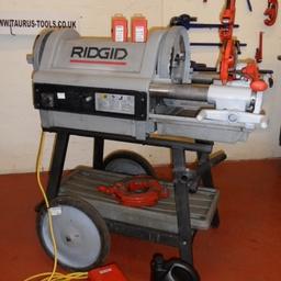 """Ridgid 1224 Threading Machine up to 4"""""""