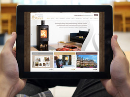 North Mill Stoves website design