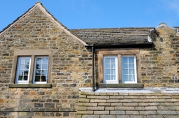 Double Glazed Window installation to listed stone property by SLW